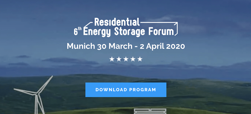 Energy Storage World Forum 8-10 October 2019
