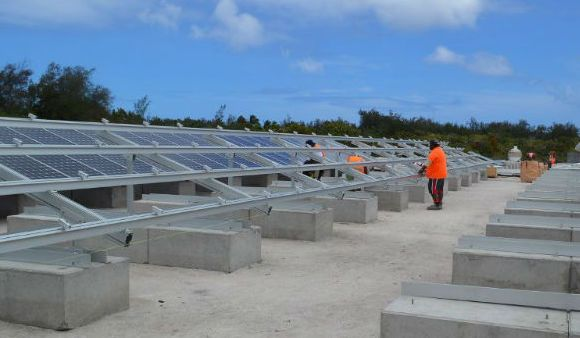 Cook Islands Renewable Energy Sector Project