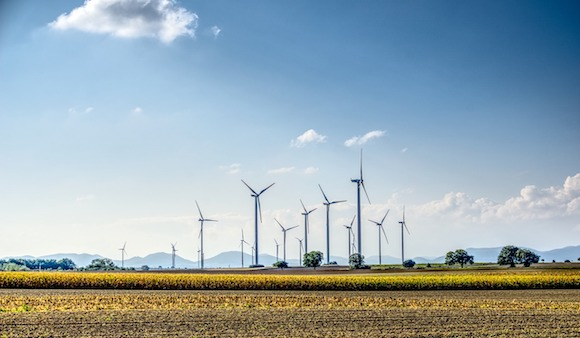 Energy Blue Wind Power Windräder